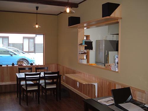 cafe千両茶屋店内写真